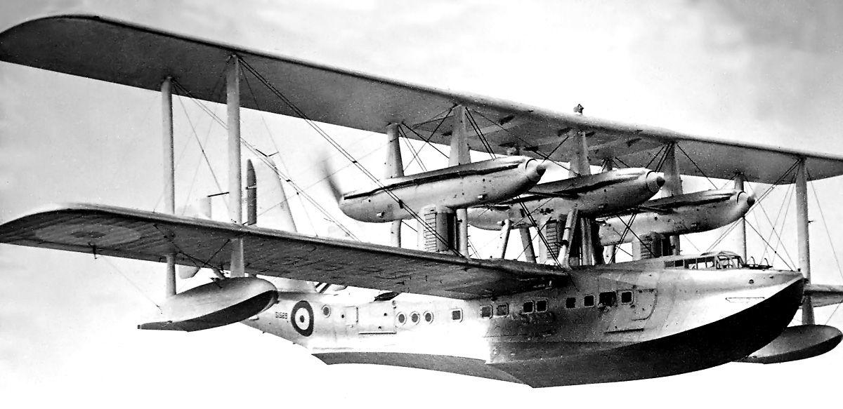 Short Sarafand Flugboot 1932