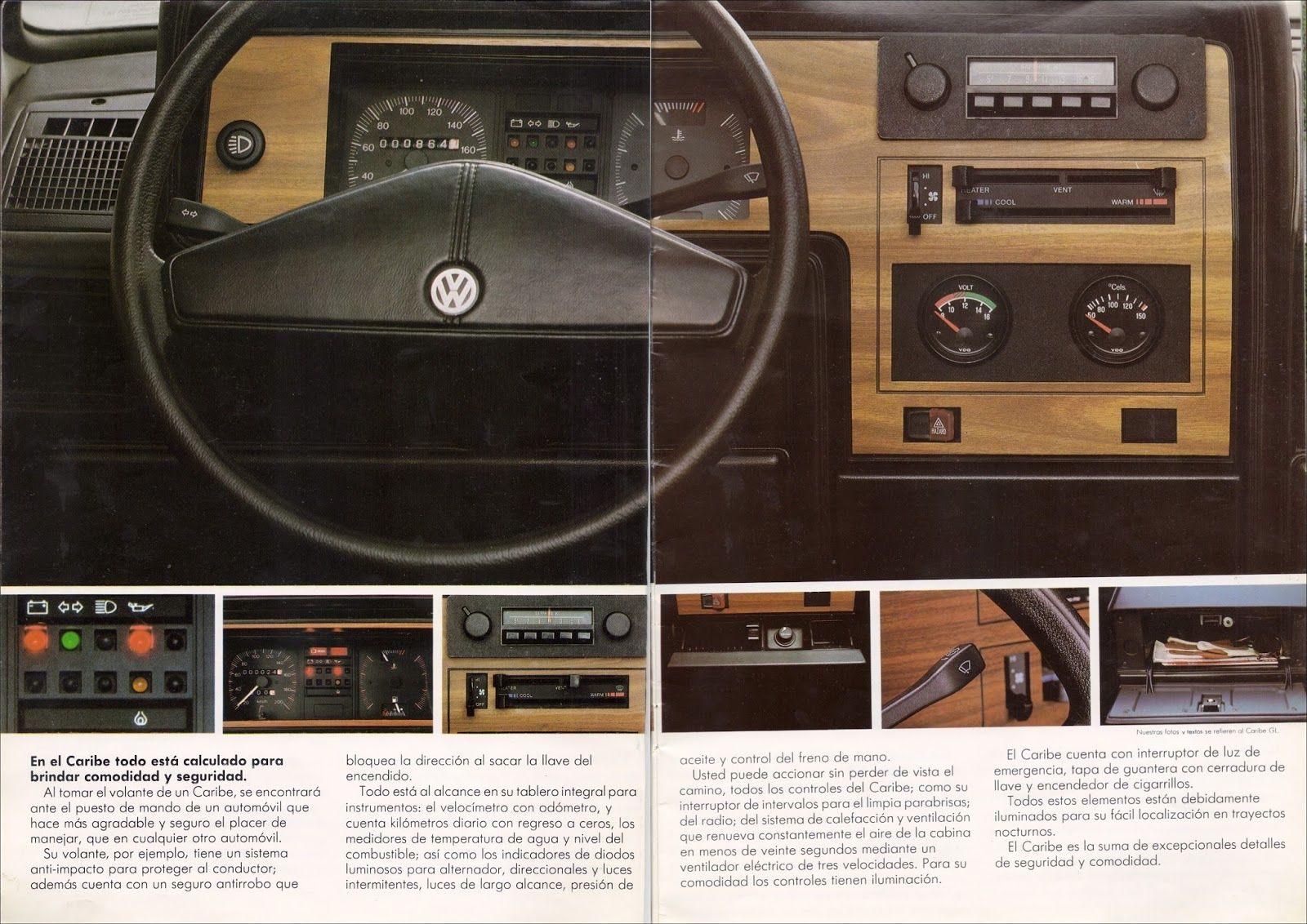 FOLLETO: VW Caribe 1982