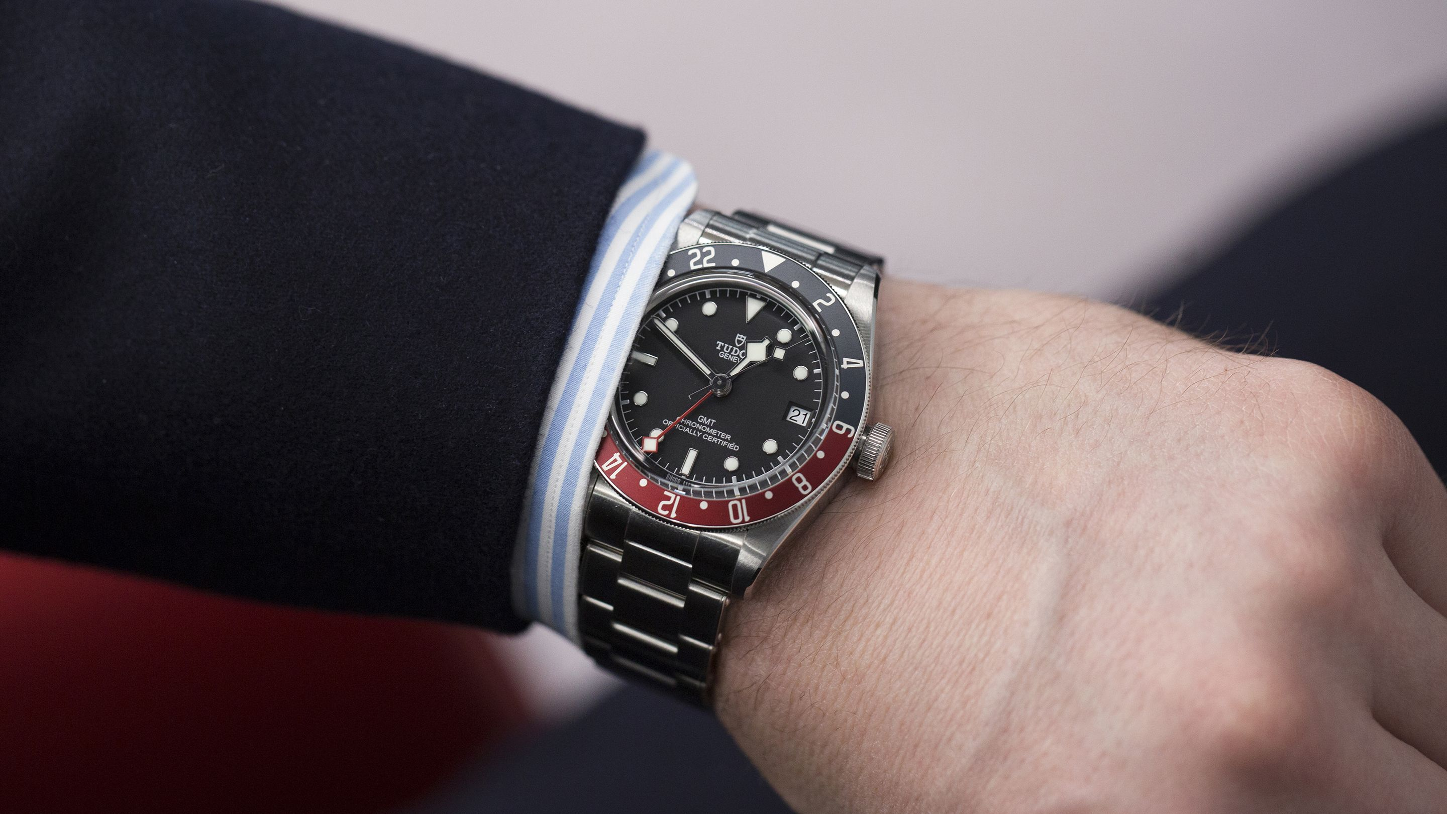 First Take The Tudor Black Bay Gmt Video Hodinkee Tudor Black Bay The Tudor Watches For Men