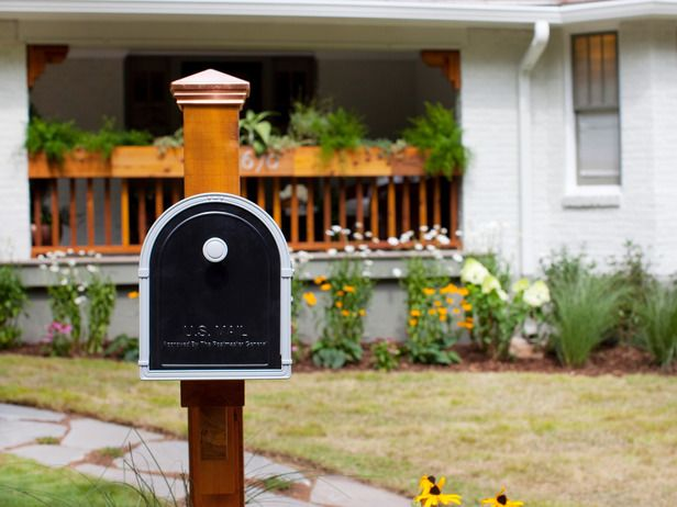 Update your mailbox : Instant Curb Appeal For Under $100 : Home Improvement : DIY Network
