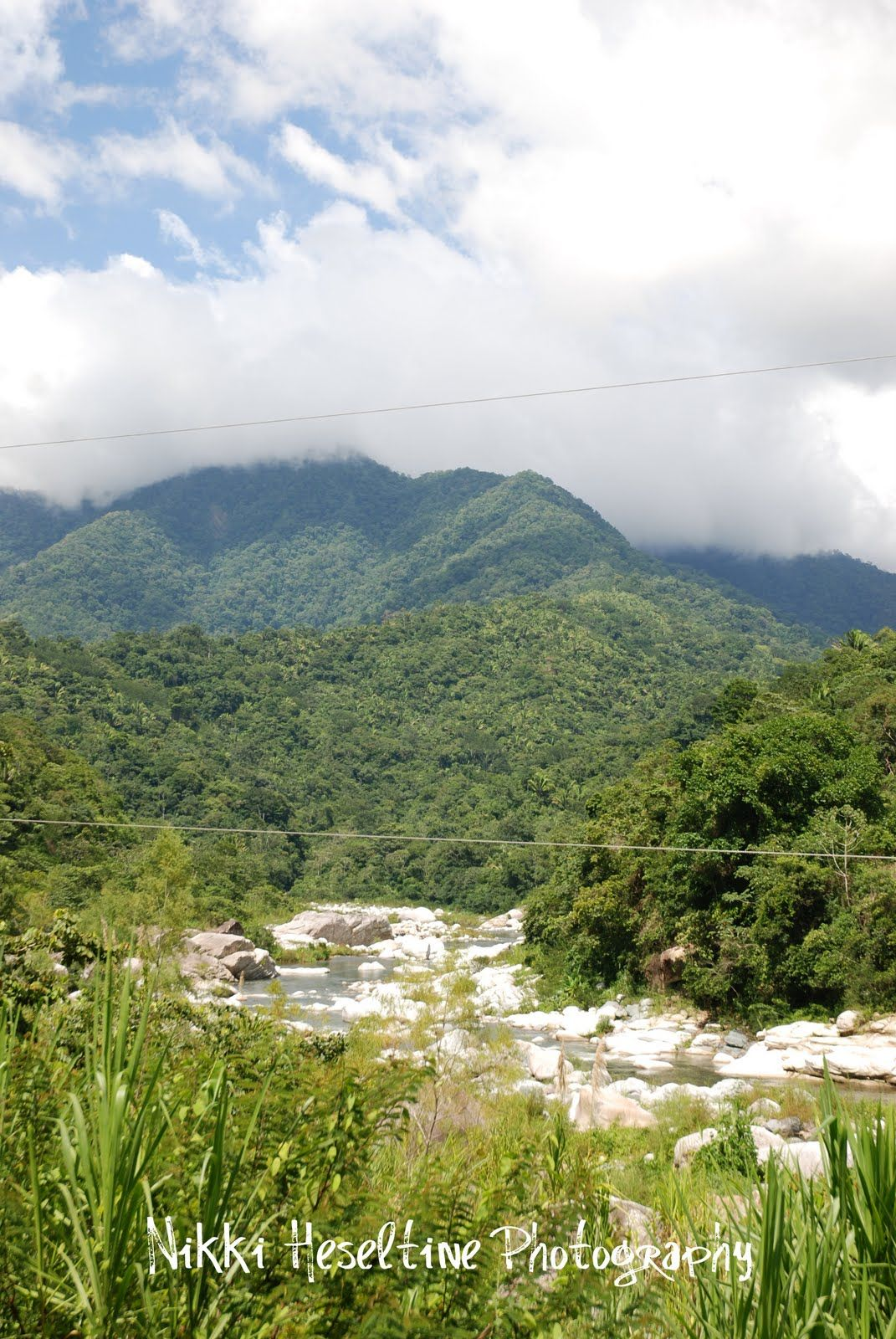 Honduras has two different climate regions, this is an
