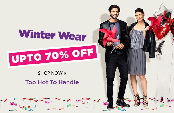 ade36b88e2e1 Enjoy Sale on  Jabong winter wear upto 70% off. You can buy Men s ...