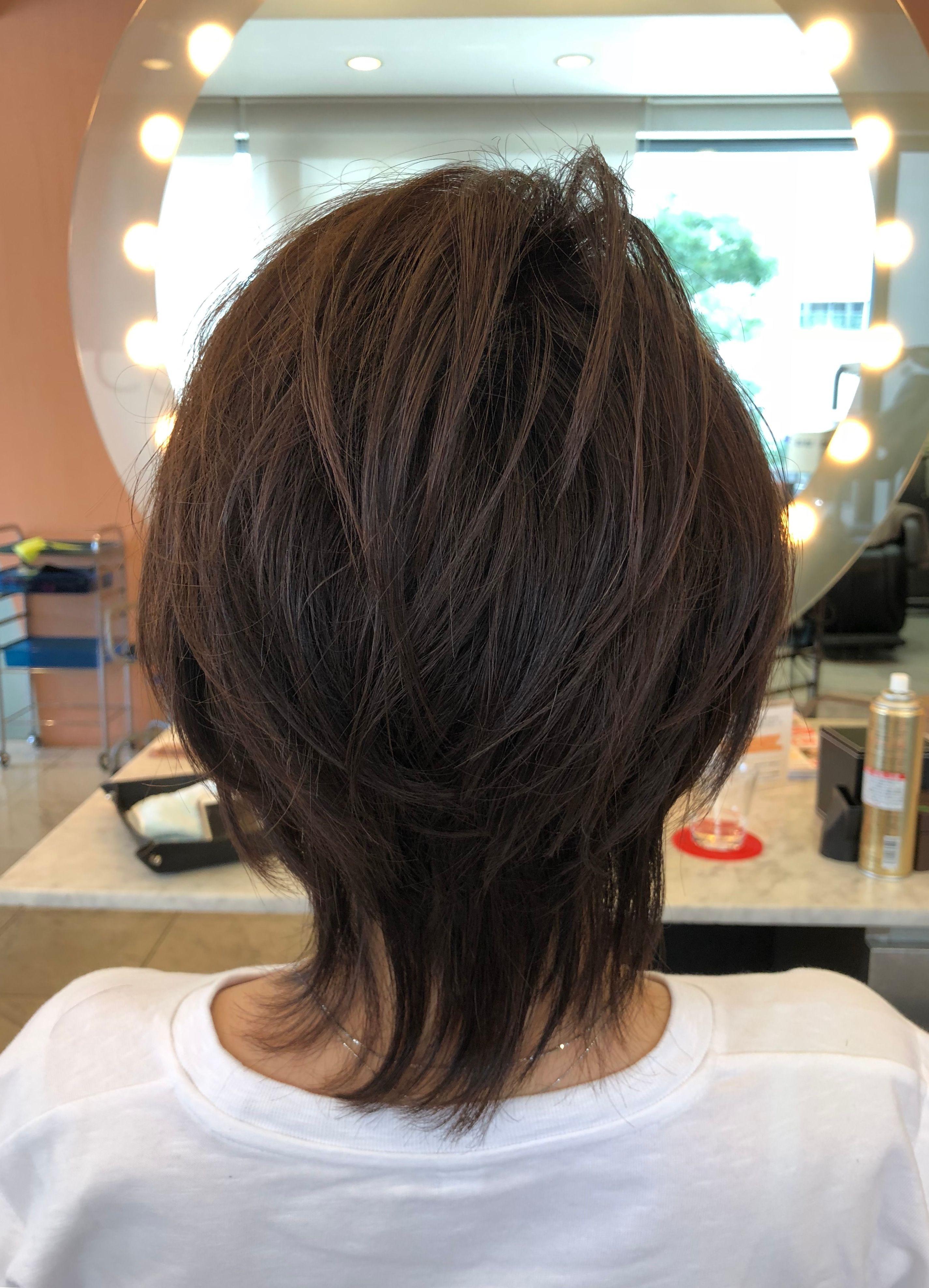 表参道美容室 40代50代60代ヘアスタイル 髪型カタログ 40代