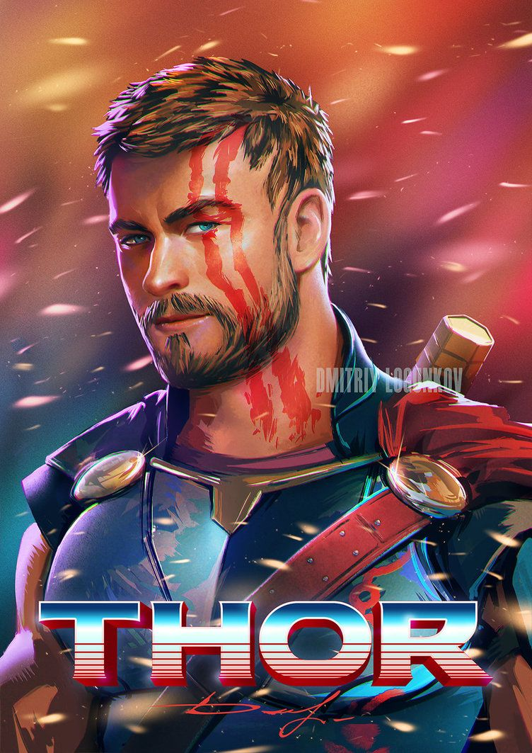 Thor Ragnarok By Logunkov Deviantart Com On Deviantart Marvel Thor Marvel Cinematic Universe Movies Marvel Cinematic