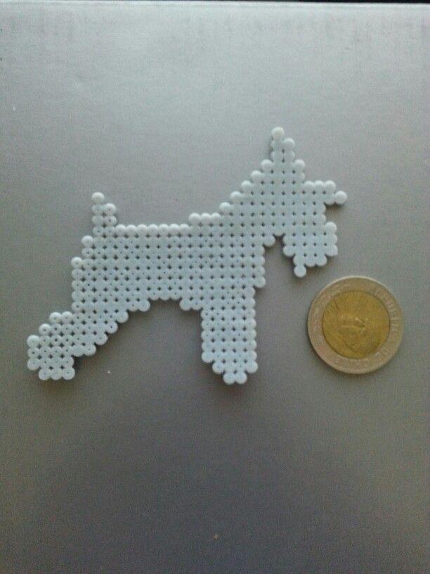 Schnauzer | Hama beads. Perler beads ♥♡ | Pinterest | Schnauzer ...
