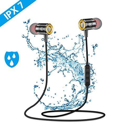 Ecouteur Bluetooth Sans Fil Pomisty Ecouteur Sport Bluetooth