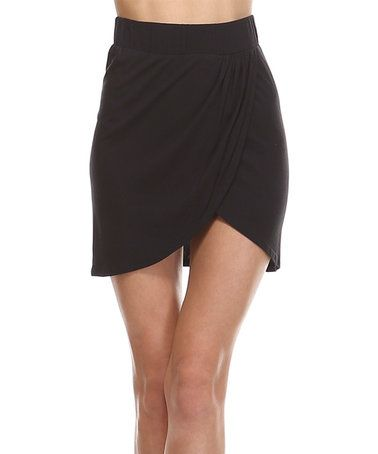 Love this Black Tulip Skirt on #zulily! #zulilyfinds