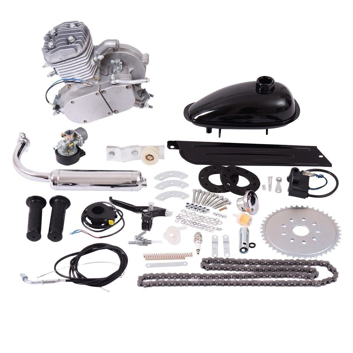 Costway 80cc 2Stroke Bicycle Gasoline Engine Motor Kit