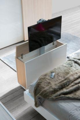 meuble tv chambre meuble cache tv