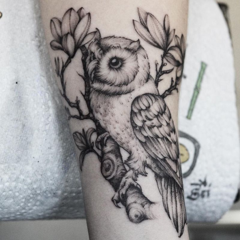 f2f7cb4e8 50 of the Most Beautiful Owl Tattoo Designs and Their Meaning for the  Nocturnal Animal in You - KickAss Things