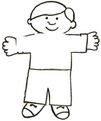Flat Stanley Template and Letter Commerce Library Kids Writing