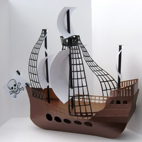 pirate ship craft ideas pirate ship template μοντέλα pirate ships 5208