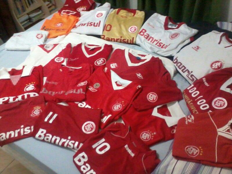 Minhas camisas vermelhas....