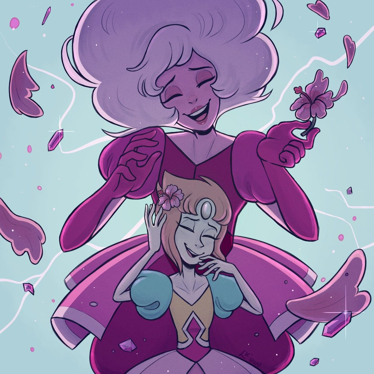 Pink Diamond And Pearl Steven Universe Steven Universe