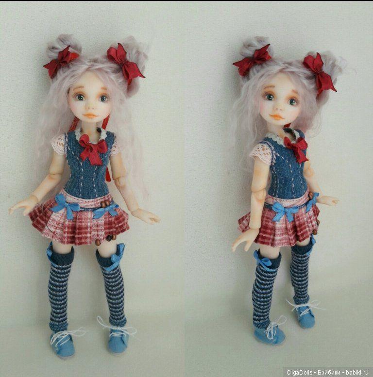 Одежда для шарнирные куклы своими руками