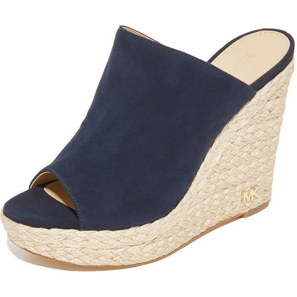 78af3dcdc47 MICHAEL Michael Kors Hastings Espadrille Mules ($140) ❤ liked on ...