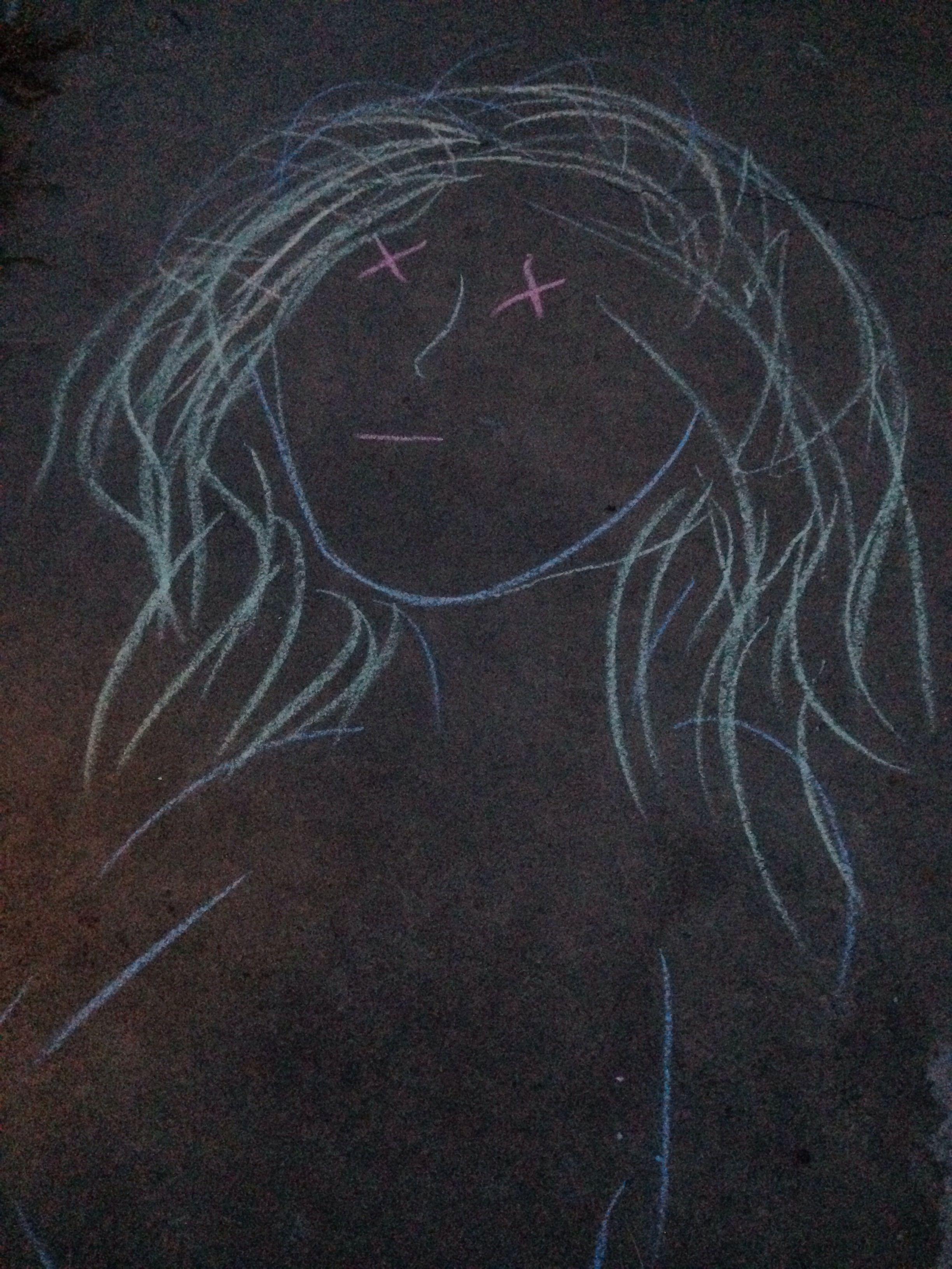 Fun with chalk.