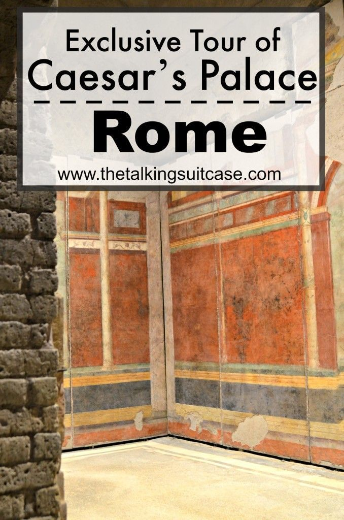 See our exclusive Tour of Caesar's Palace in Rome and our Walks of Italy Review. We toured the Colosseum, Roman Forum and Casa di Augusto.