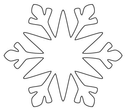 Snowflake Cutout Patterns  Decorating Tools scissors fabric