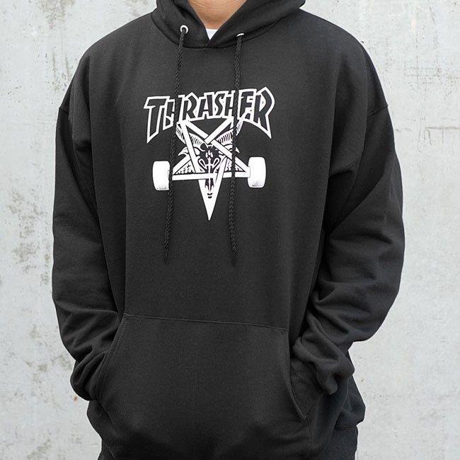 Skategoat Hood (Black) in 2019 | Thrasher | Thrasher