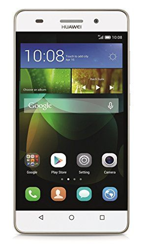 """Huawei G Play Mini - Terminal libre de 5"""" (Kirin 620 Octa Core 1.2 GHz, 2 GB de RAM, cámara de 13 MP, Android 4.4) color blanco Huawei"""