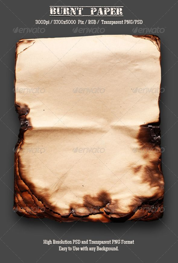 Burnt Old Paper 15 Burnt Paper Old Paper Paper