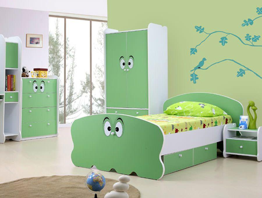 30 simpatiche e coloratissime camerette per bambini idee per bambini kids bedroom bedroom e - Mobili per vinili ...