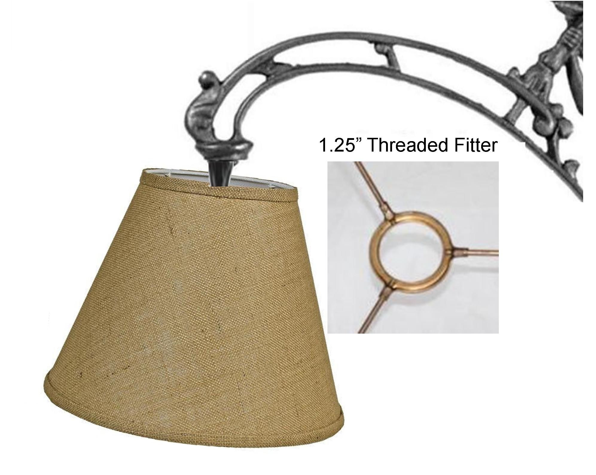 Uno lamp shade experts since 1979 screw on fitter lampshade fits floor lamps bridge arm lamps goose neck lamps and others