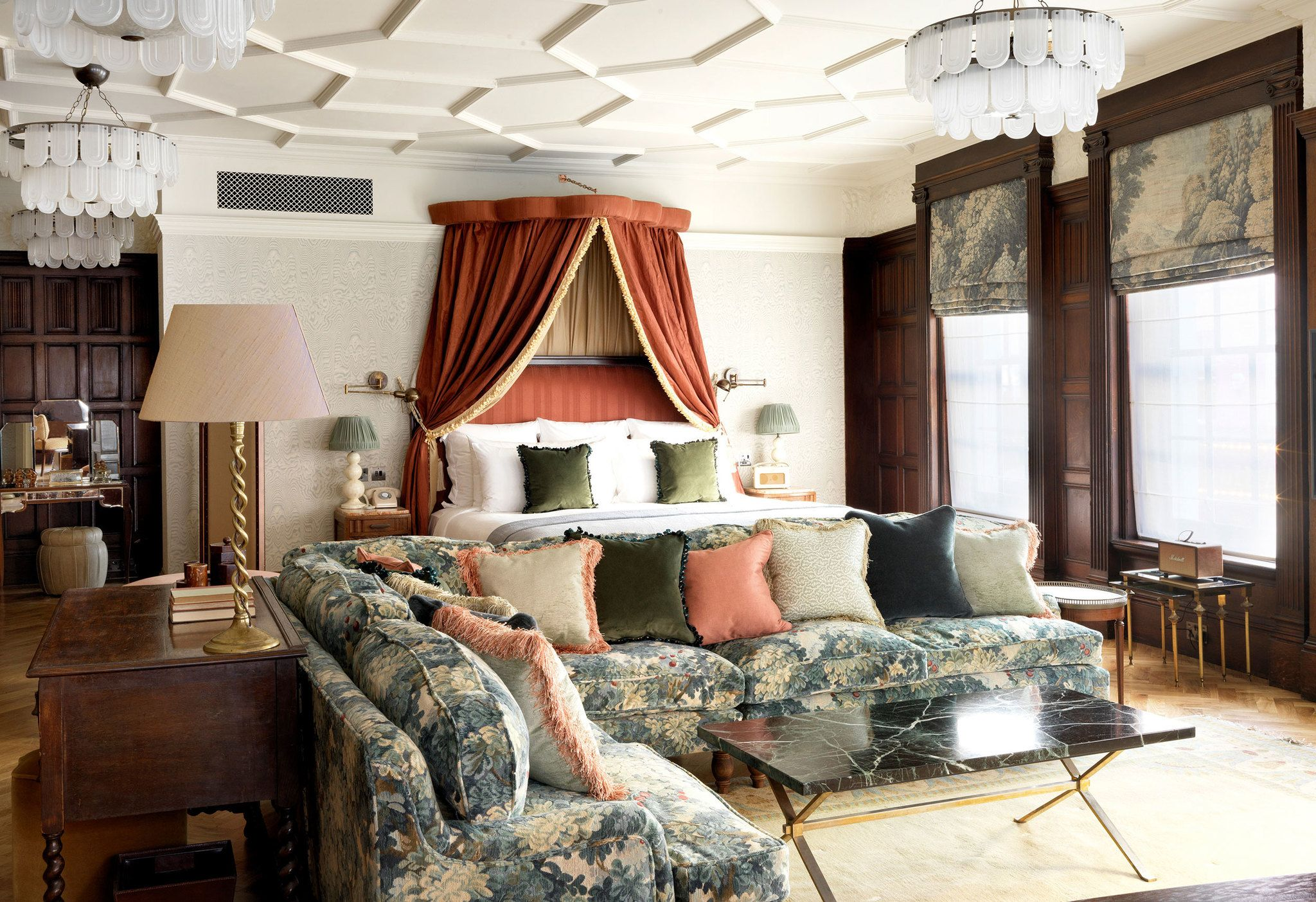 kettner's townhouse london  small apartment decorating