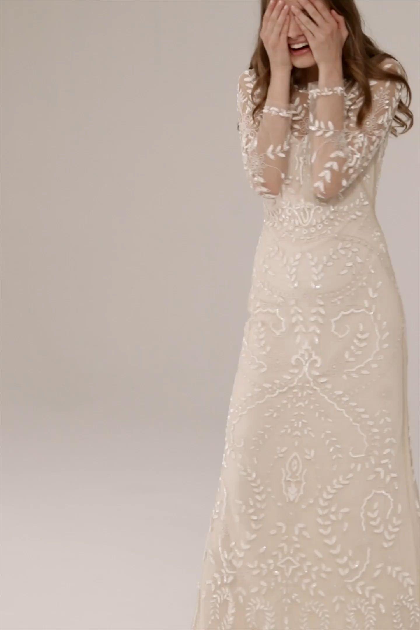 Grey mermaid wedding dress  Beyond The Sea Gown  Wedding  Pinterest  Wedding dresses Dresses