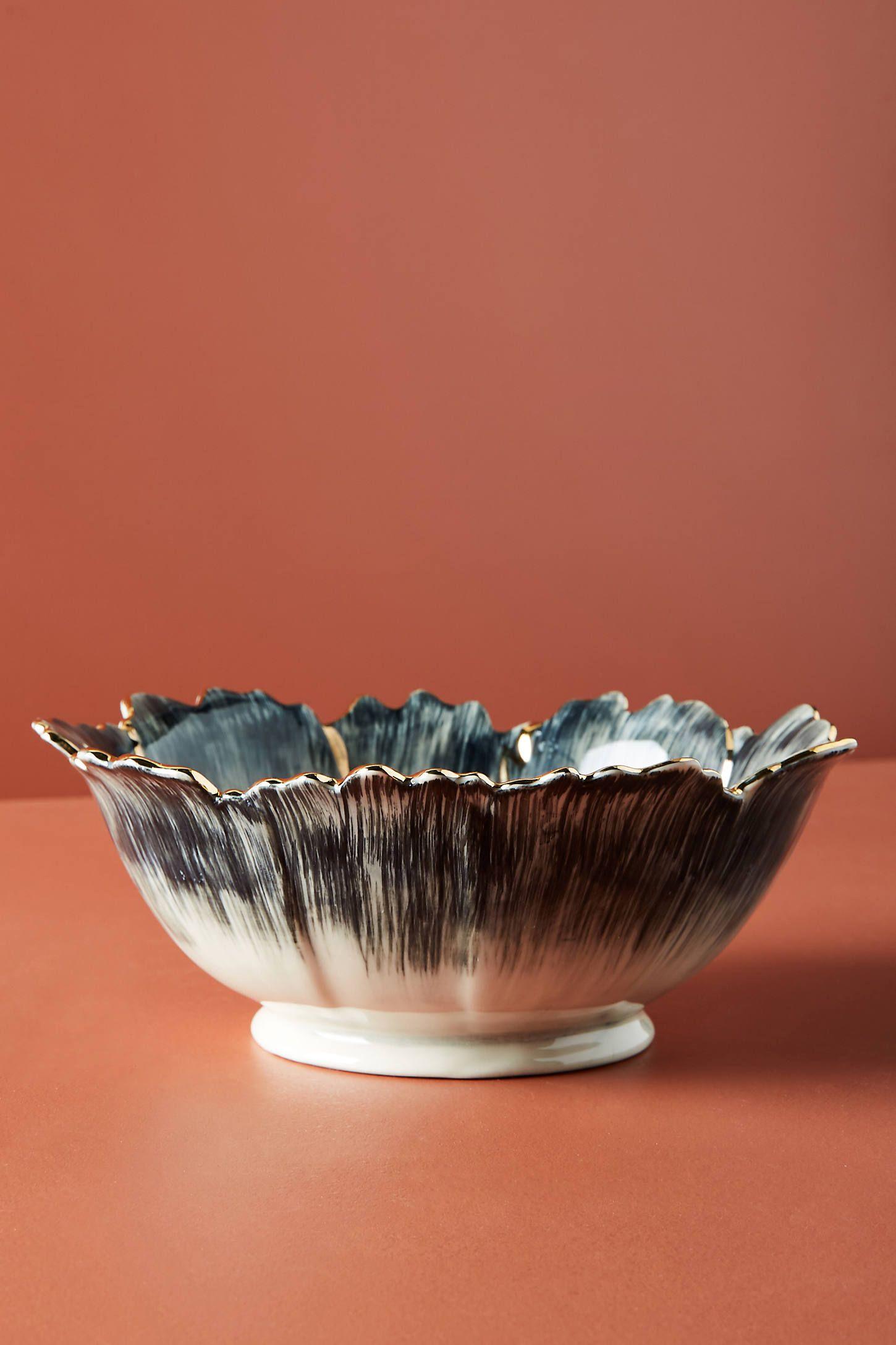 Papetal Floral Serving Platter In 2020 Serving Bowls Diy Wall