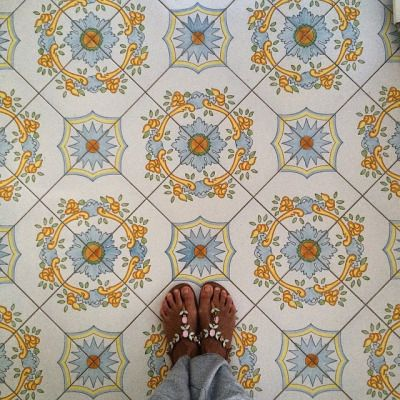 This week's #regram is for these beautiful #tiles by @me.federica! Keep spreading the #TileAddiction! http://ift.tt/1HQV09y