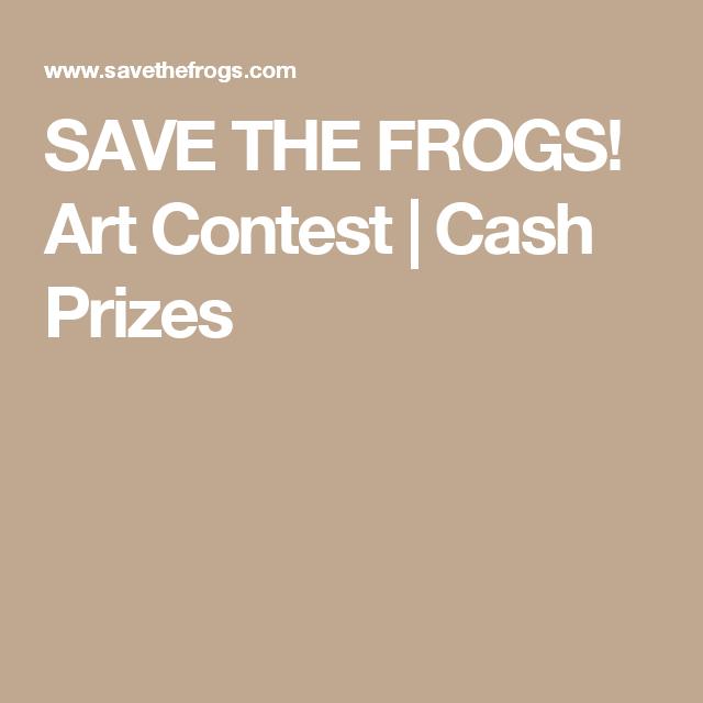 Art contest for cash prizes