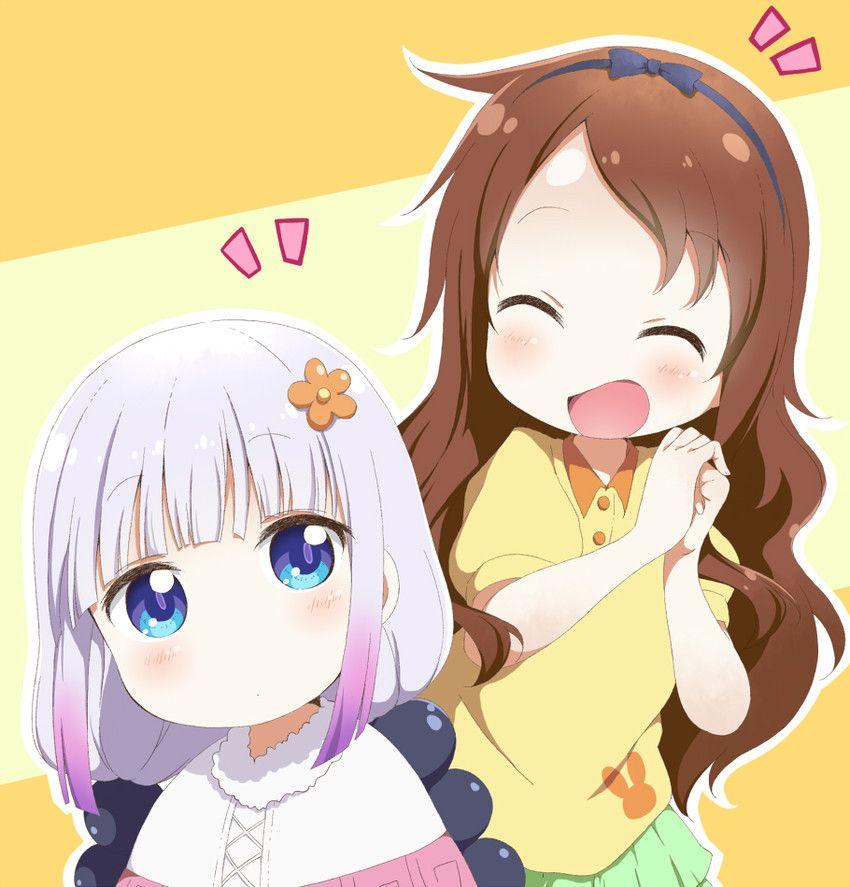 Kanna Y Riko Saikawa Anime Engracado Anime Animacao