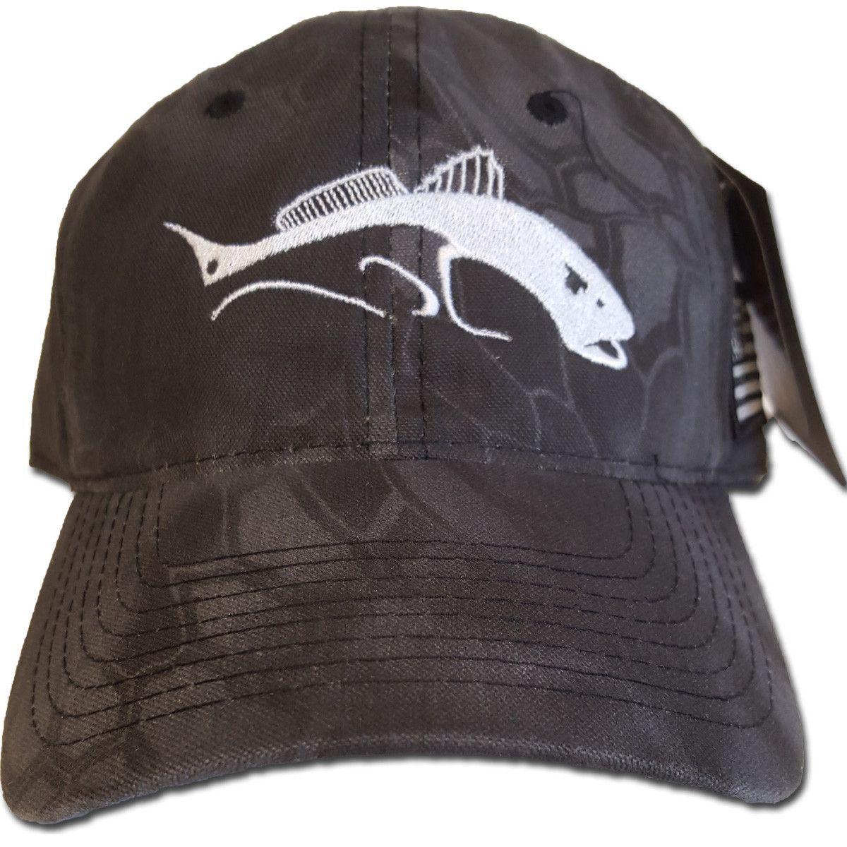 Redfish Fishing Hat On Kryptek Black Camo For My Fella Pinterest