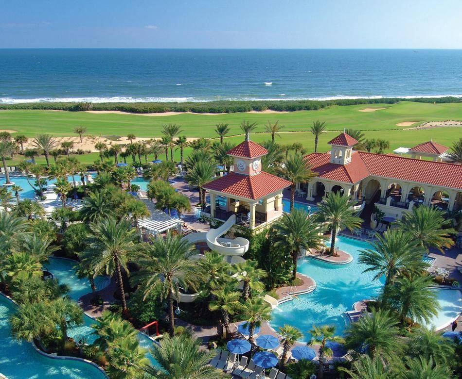 Hammock beach resort located in northeast florida near for Beach vacations on the east coast