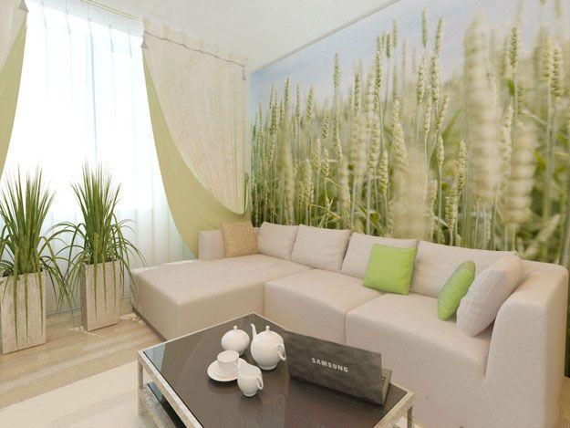 Wohnzimmer-Design-Ideen Eco-Stil