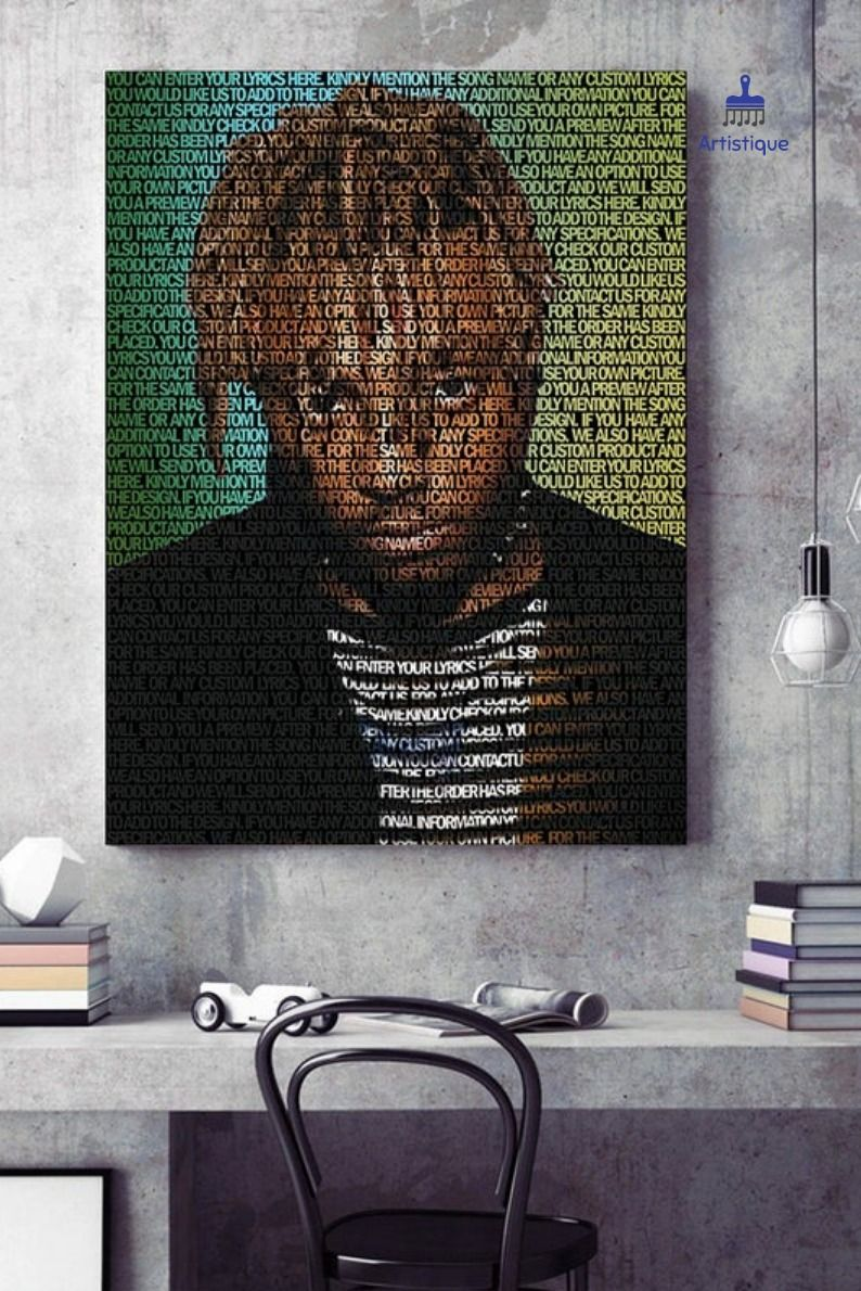 This item is unavailable Rapper art, Music canvas