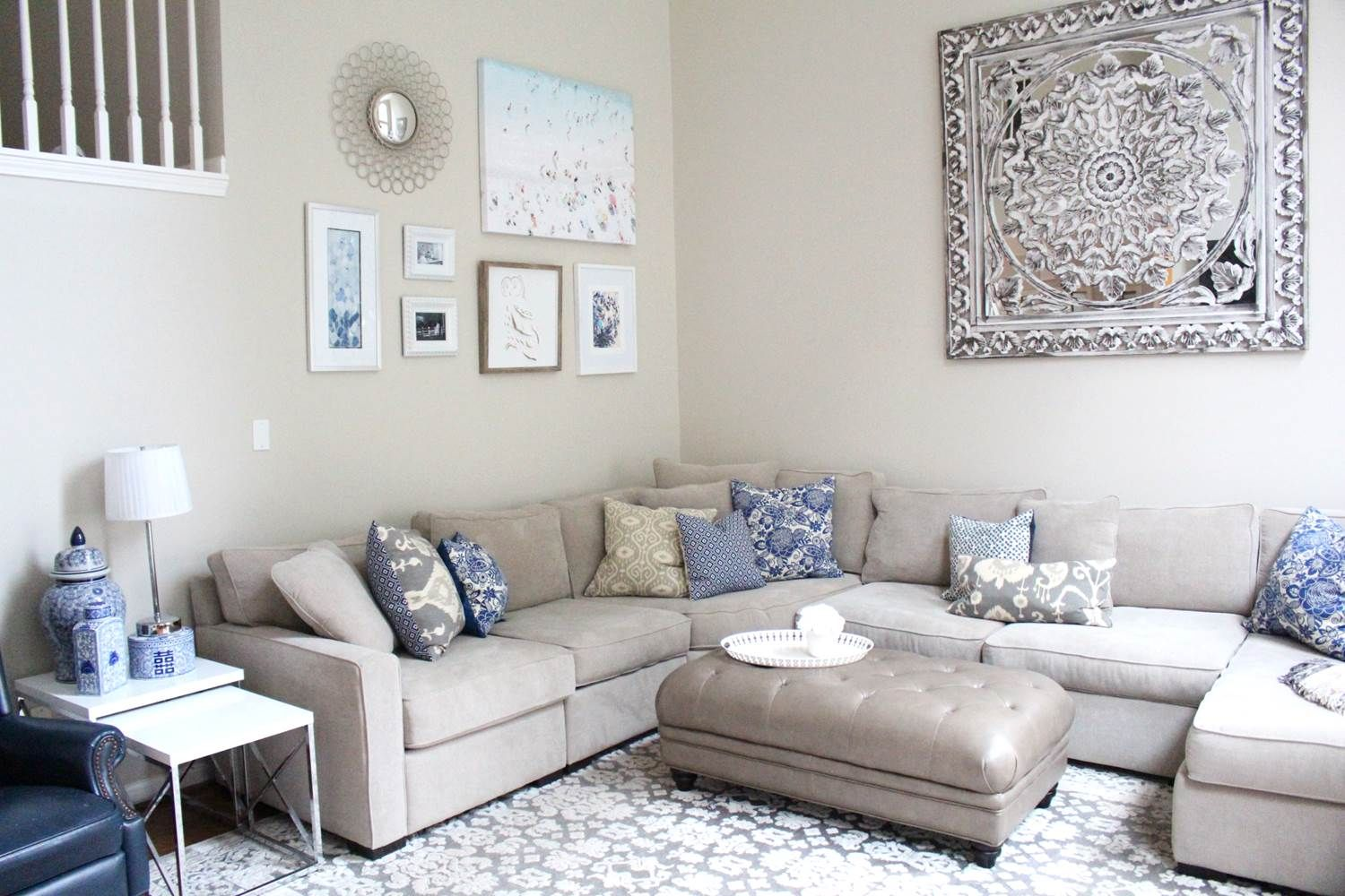home decor 101 neutral agreeable gray blue living room - Home Decor 101