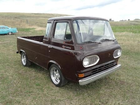 1962 Ford Econoline Hot Rod Pickup Cars Such Classic Ford