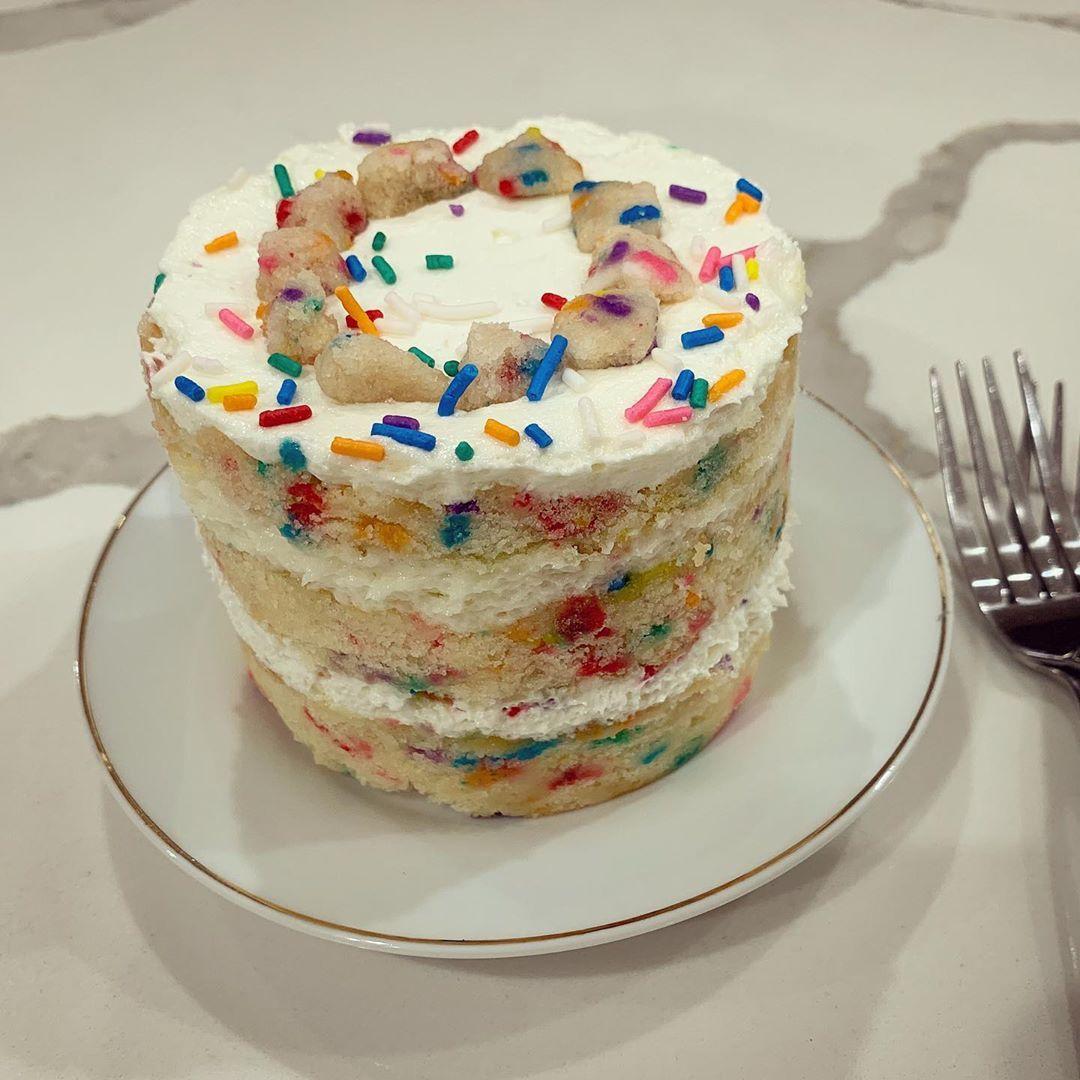 My sister sent me the birthday cake from milkbarstore. I