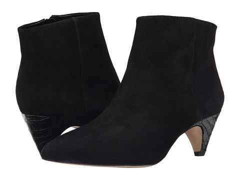 Sam Edelman Lucy Ankle Boot. Ankle boots with dresses are really hot right now. This is a great shape and heel that you can dress up or down.