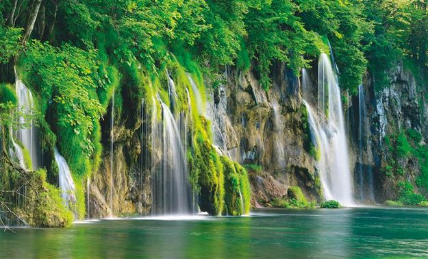 Plitvice Lakes National Park, Croatia The oldest nationalpark in southeastern Europe.