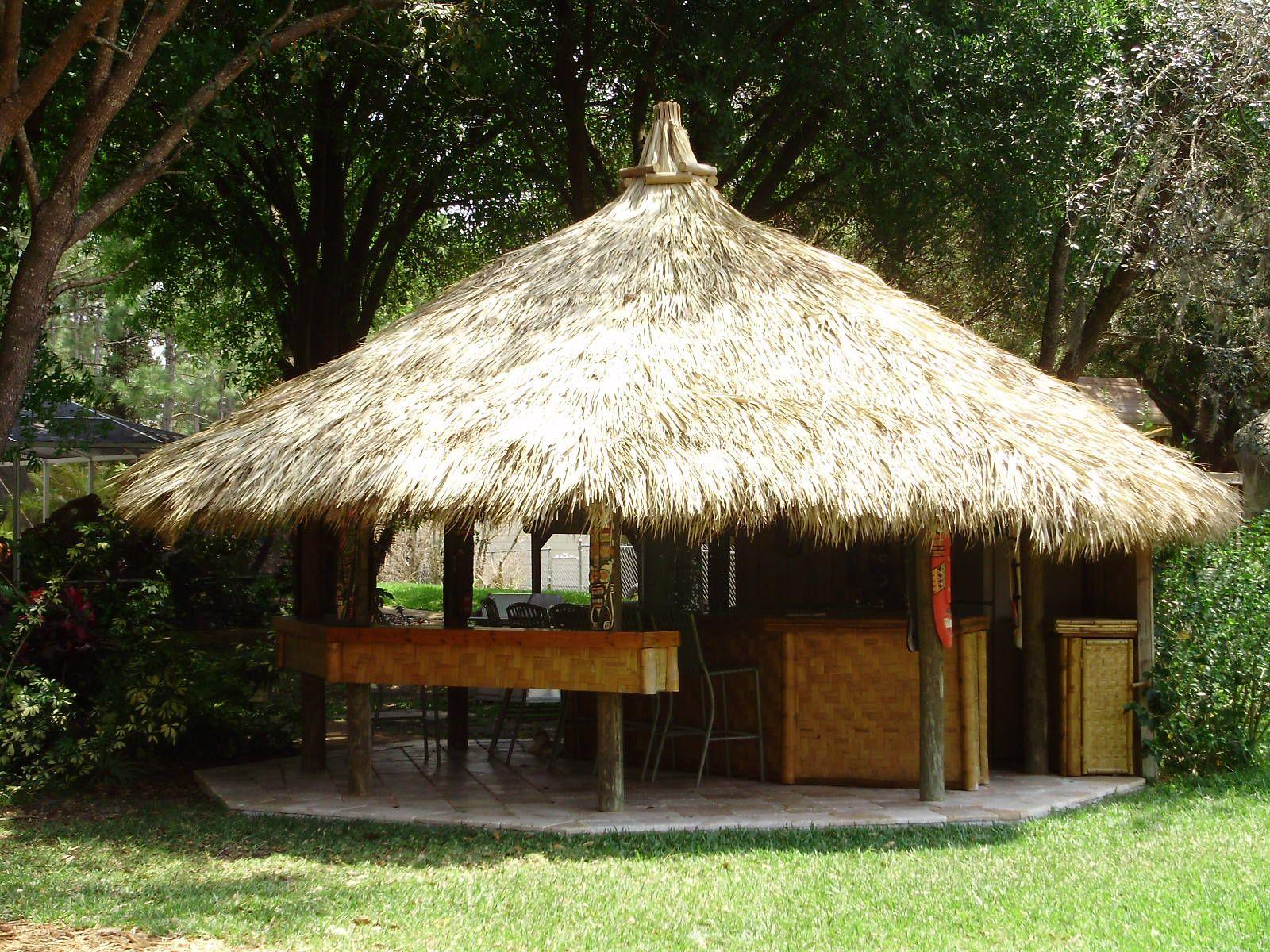Pin By Larr On Secret Places Cool Spaces Tiki Hut Gazebo Gazebo Roof