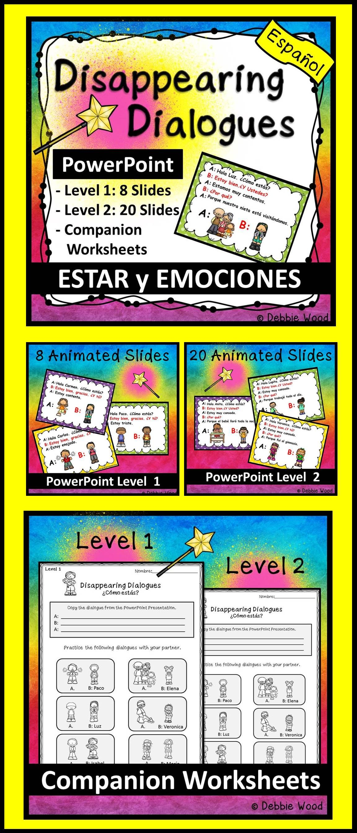 Disappearing Dialogues Are A Fun Way To Learn New Dialogues In Spanish This Lesson Inc How To Speak Spanish Spanish Lesson Plans Spanish Classroom Activities [ 2688 x 1152 Pixel ]