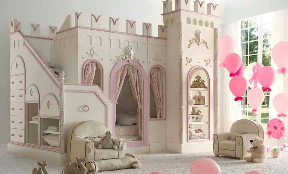 Princess room <3   Must Haves!   Pinterest   Reve maison, Chambre ...