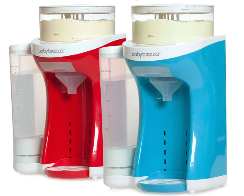 We love the Baby Brezza Formula Pro, a cool Keurig-esque machine for formula, and look at the new limited edition colors!