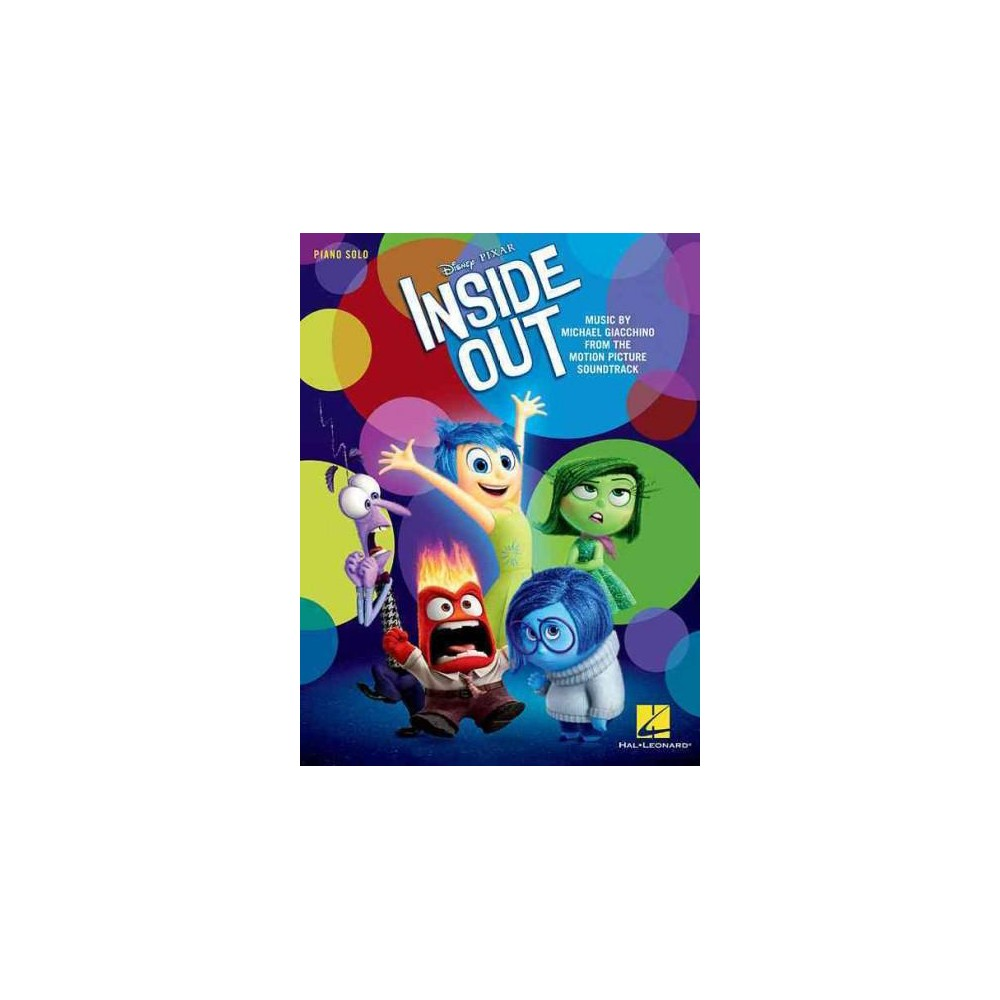 Inside Out : Music from the Motion Picture Soundtrack: Piano Solo (Paperback)