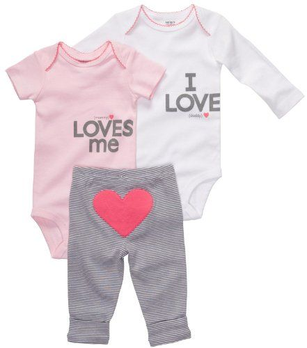 Baby Clothes Websites Awesome Carters 3 Piece Set Mommy Loves Mepink12 Months ** More Info Could Inspiration Design