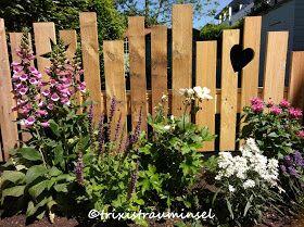 trixistrauminsel: Neues Holz-DIY im Garten #zaunideen